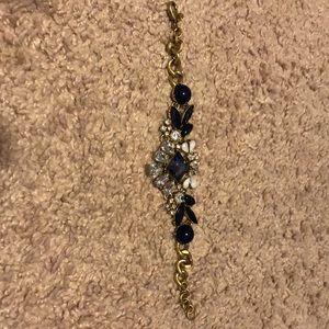 Jcrew bracelet with enamel & jewel detail